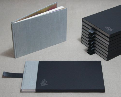 Photo of a custom edition with slipcases.